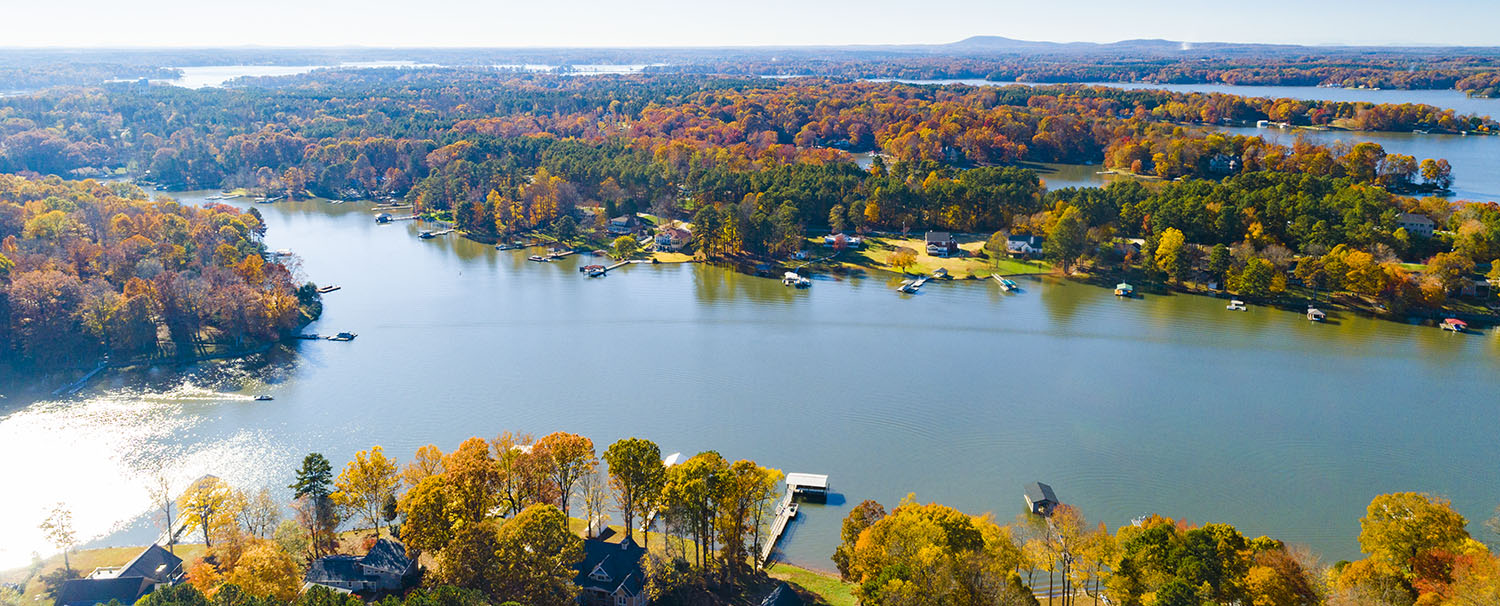 Lake Norman Fall Panorama